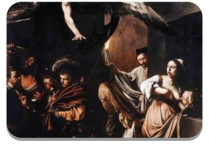 Seven Works of Mercy, Caravaggio, 1607.