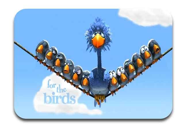 For the Birds, salah satu film animasi pendek terbaik