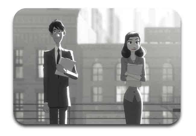 film animasi pendek paperman