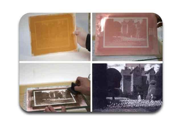 proses cetak foto alternatif dengan tehnik temperaprints