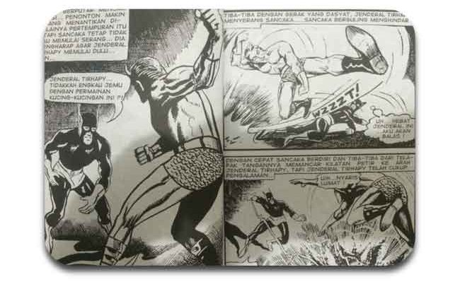 Gundala was one of the first superhero in Indonesia comic