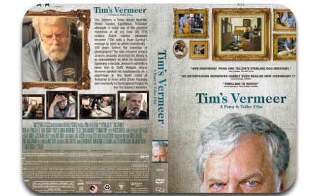 Tim's Vermeer art documentary poster