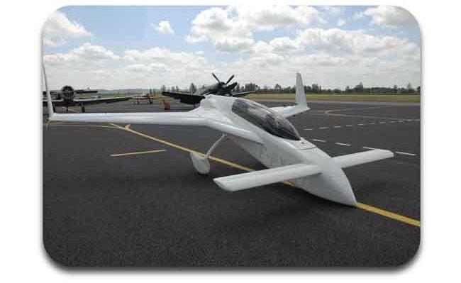desain pesawat varieze