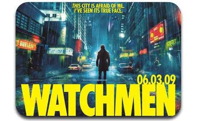 watchmen salah satu film superhero yang diburu oleh fans