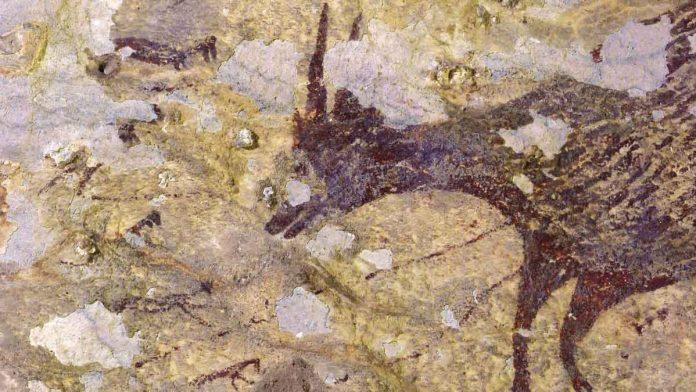 lukisan gua leang bulu sipong
